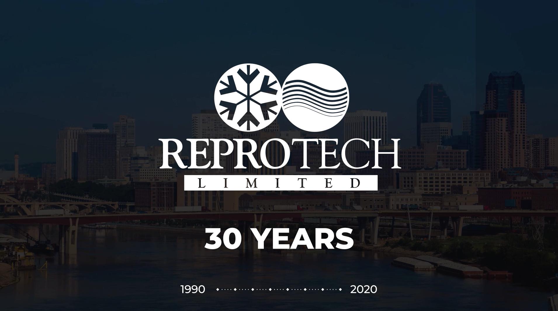 Video describing Reprotech's 30 year history